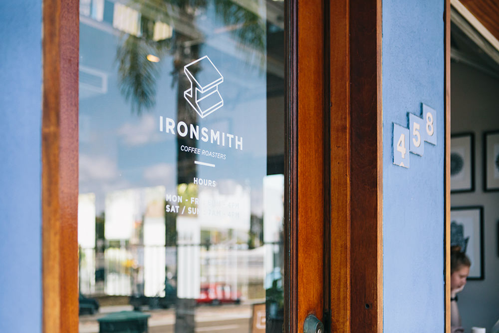 Ironsmith Coffee Roasters exterior